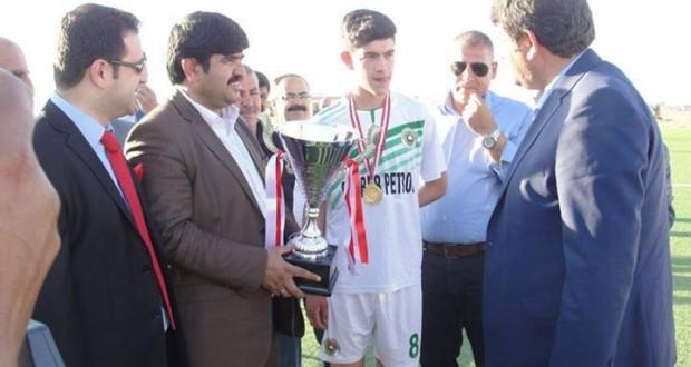 U-19 Ligi Akçakale Spor Külübünün Kupa Töreni