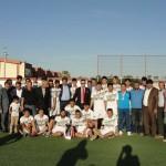 U-19 Ligi  Şampiyonu Akçakale Sporun Kupa Töreni