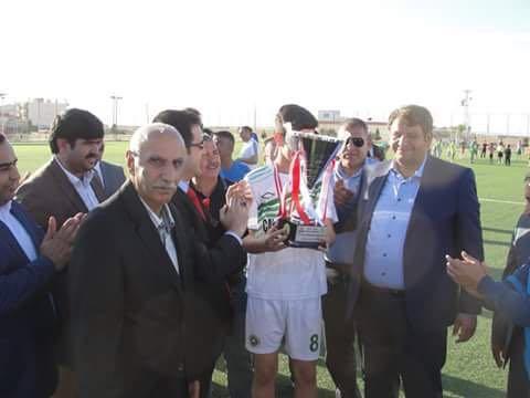 U-19 Ligi Şampiyonu Akçakale Sporun Kupa Töreninden Kesitler