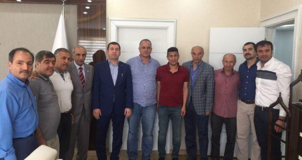 A.S.K.F. Yönetim Heyetinden Karaköprü Belediyesine Ziyaret